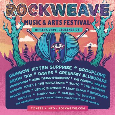 Rockweave Music & Arts Festival Lineup