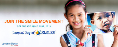 Join the SMILE movement this summer (CNW Group/Operation Smile Canada)