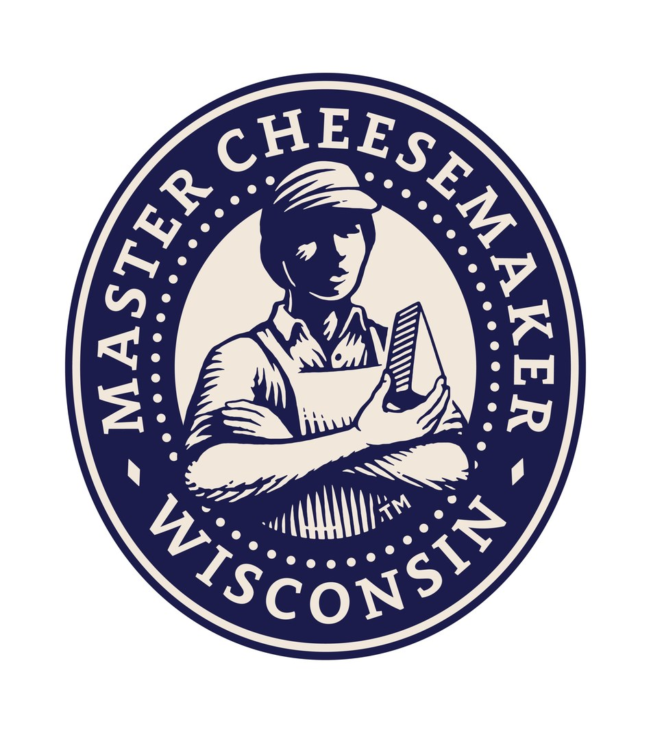 When a cheesemaker completes the Wisconsin Master Cheesemaker program, they have earned right to use the Masters Mark on his or her packaging and marketing. To commemorate 25 years of excellence, the universal Masters Mark logo received an update, as seen here. In an effort to personalize and celebrate the completion of a Master Cheesemaker certification, each Master Cheesemaker will receive a personalized hand-drawn mark to use on their packaging.