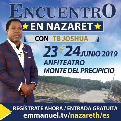 T.B. Joshua organiza un Encuentro en Nazaret, Israel