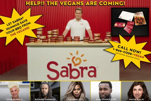 The Vegans are Coming… to Your BBQ! Have No Fear: Sabra is Coming to the Rescue