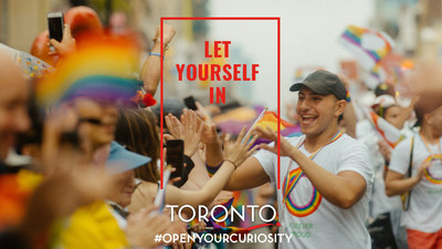 Tourism Toronto's new destination marketing campaign - Let Yourself In. (CNW Group/Tourism Toronto)