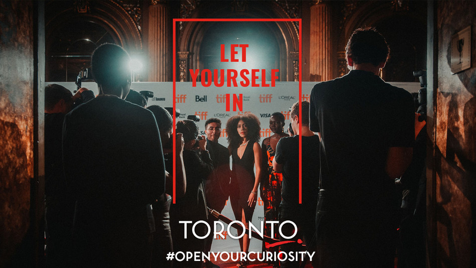 Tourism Toronto's new destination campaign - Let Yourself In (CNW Group/Tourism Toronto)