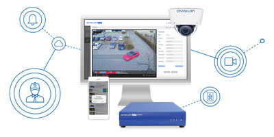 The Avigilon Blue solution enables flexible site monitoring and utilizes analytics that provide important information about your site. (CNW Group/Avigilon Corporation)