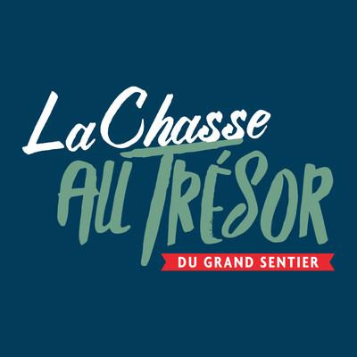 Logo : La Chasse Au Trésor Du Grand Sentier (Groupe CNW/Société géographique royale du Canada)