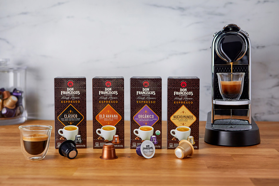 Don Francisco's Coffee Family Reserve Espresso Capsules