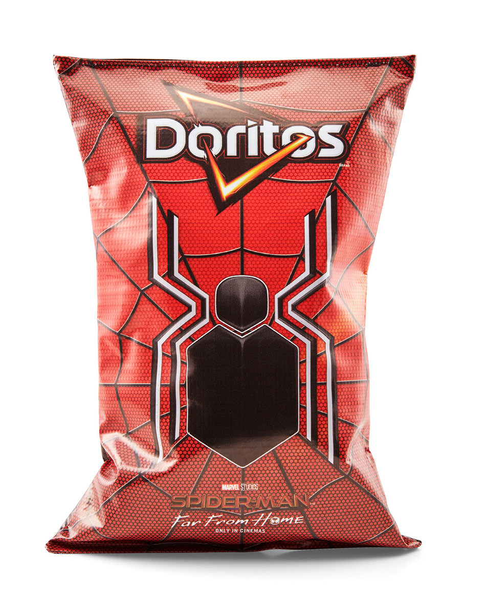"""Spider-Man™: Far From Home And Doritos® Join Forces to Design """"Incognito Doritos"""" Bags that Covertly Transform into Official Replica of the Spider-Man Suit"""