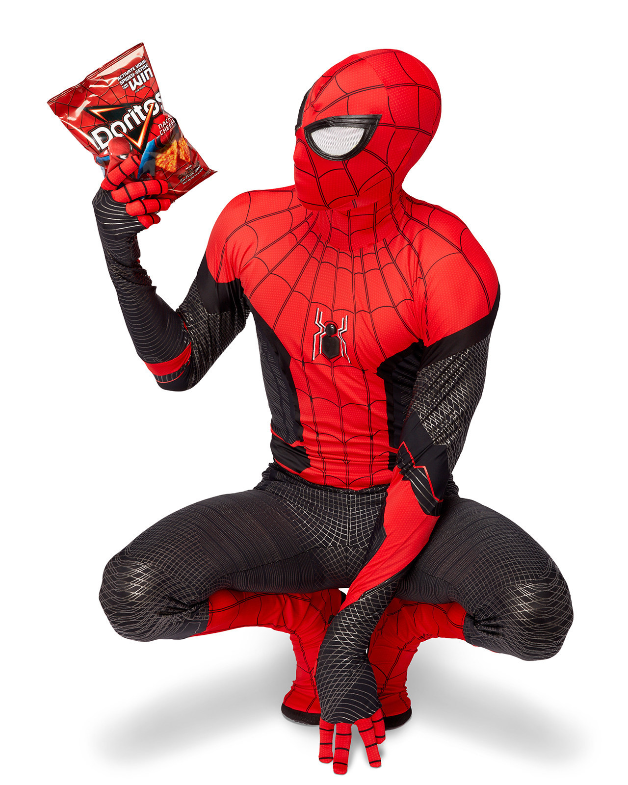 Incognito Doritos' Unveiled To Help Spider-Man™ Conceal His