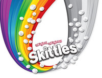 Limited-edition Pride Skittles official logo (CNW Group/Skittles Canada)