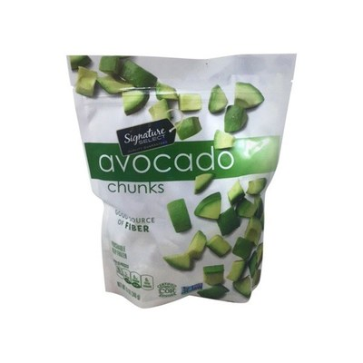 Signature Select Avocado Chunks (Frozen) (CNW Group/Nature's Touch Frozen Foods (West) Inc.)