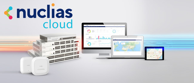 Nuclias Cloud - cloud-managed networking solution for switching and wireless