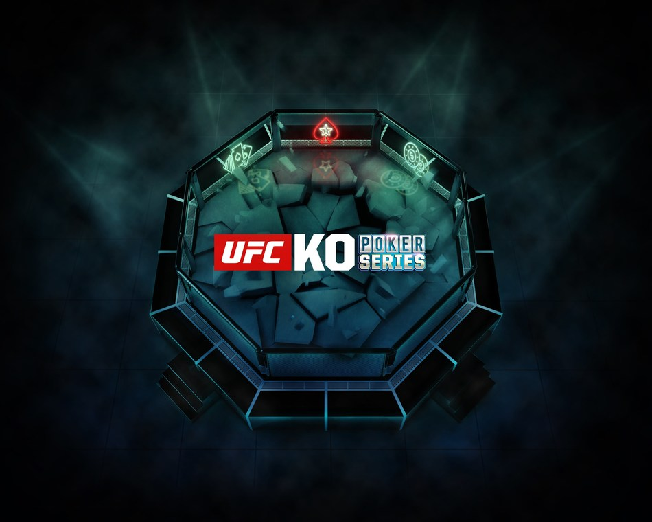 UFC KO Poker hits the PokerStars online felt on June 23 (PRNewsfoto/PokerStars)