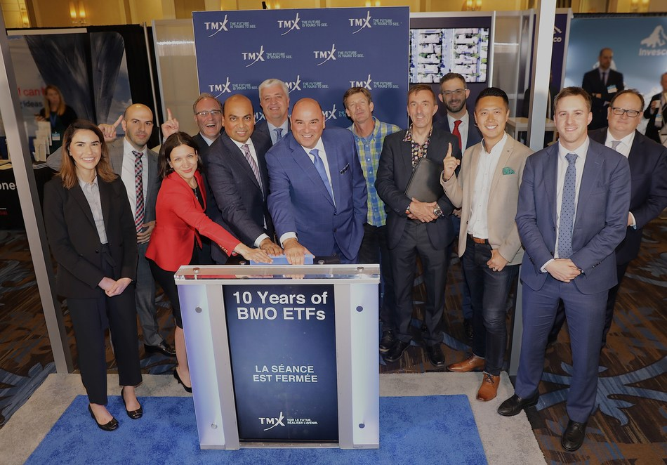 Ten Years of BMO ETFs Closes the Market (CNW Group/TMX Group Limited)