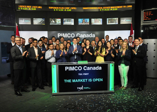 PIMCO Canada Corp. Opens the Market (CNW Group/TMX Group Limited)