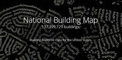 National Building Map: Seamless building footprint data for the US