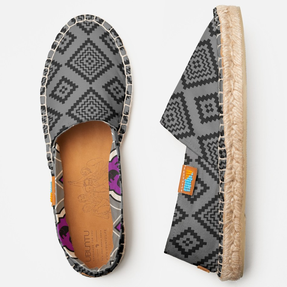 Zazzle, the world's leading destination for customization, announced a partnership with Ubuntu Life to bring scale to the Afridrille - the world's first custom espadrille handmade-to-order in Africa. As part of the commitment to its philanthropic-inspired program called Zazzle Heart, Zazzle has taken the next step to power manufacturing at scale and to have an impact through the partnership with Kenya-based Ubuntu Life. All proceeds from the Afridrille sales, along with sales of other handmade products such as leather journals and canvas totes available for custom order through the Zazzle marketplace, go directly towards these marginalized mothers and the medical care and education for their children with special needs in Kenya. Afridrilles range in price from $89.95 to $99.95 and are available for purchase now at https://www.zazzle.com/heart.