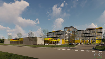 Artist rendering of the new Giant Tiger Home Office and Flagship Store (CNW Group/Giant Tiger Stores Limited)