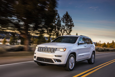 The Jeep® Grand Cherokee ranked in the top three in Midsize SUVs in the J.D. Power 2019 U.S Initial Quality Study.