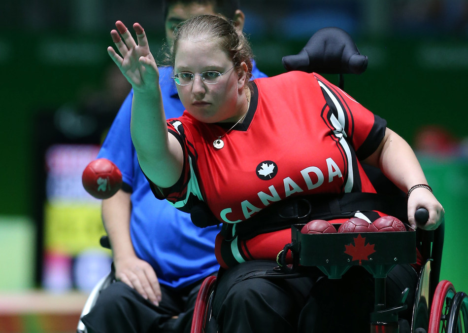 Alison Levine is the highest-ranked member of the squad, currently sitting at world No. 3 in the individual BC4 category. PHOTO: Canadian Paralympic Committee (CNW Group/Canadian Paralympic Committee (Sponsorships))