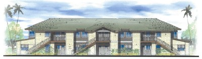 Rendering of Keahumoa Place Apartments