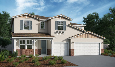 The Dillon II floor plan at Valor at Audie Murphy Ranch.