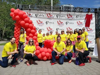Team Alectra at YWCA Hamilton's Walk a Mile event (CNW Group/Alectra Utilities Corporation)