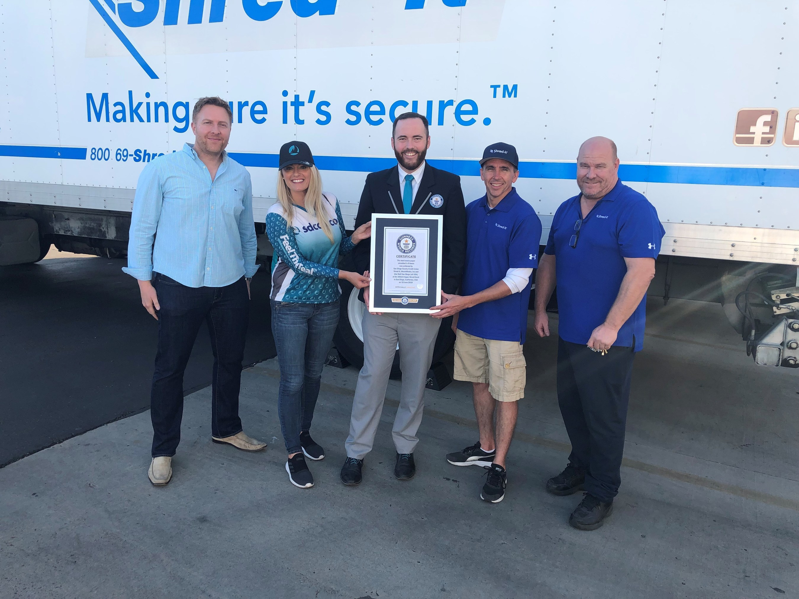 Sdccu Customer Service >> Sdccu Shreds Previous Record At The Sdccu Super Shred Event
