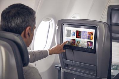 Air Canada accroît sa sélection populaire de divertissements à bord. (Groupe CNW/Air Canada)