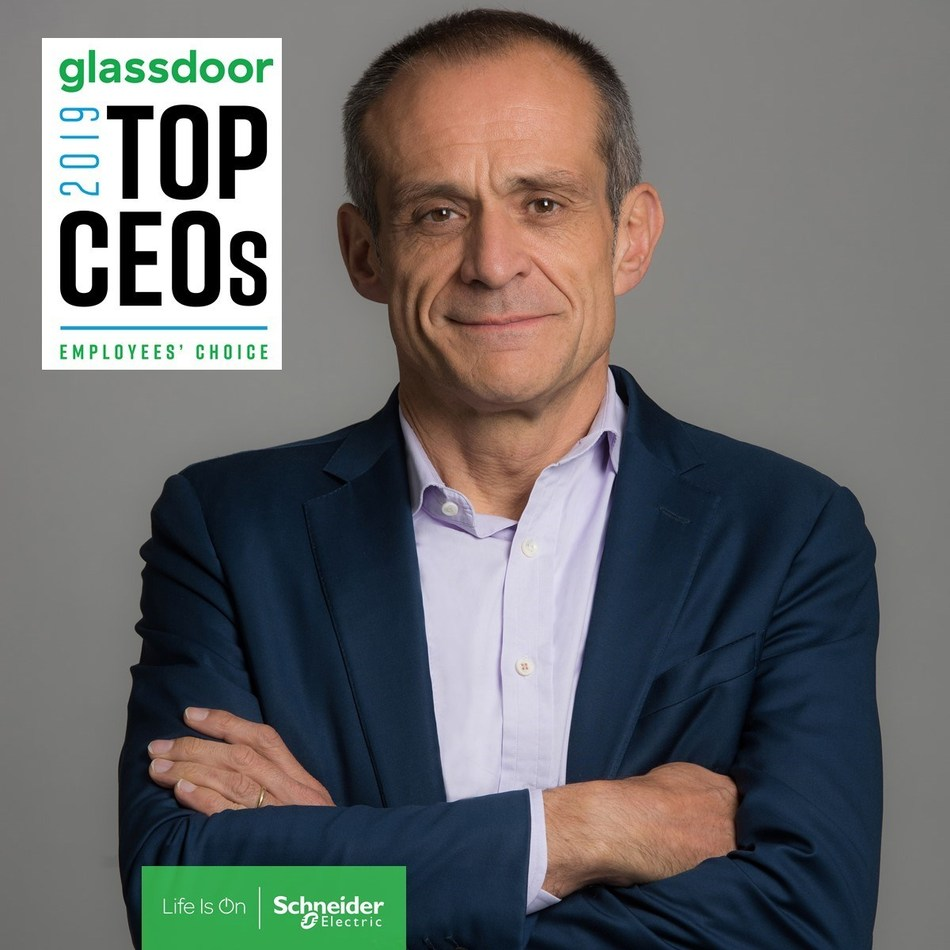 Jean-Pascal Tricoire, Schneider Electric CEO (CNW Group/Schneider Electric Canada Inc.)