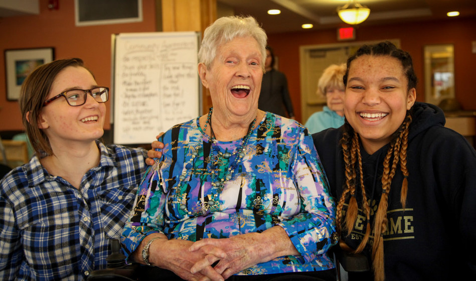 Canadian seniors are committed to living a life of purpose and feel a sense of responsibility to create a better world for future generations. (CNW Group/Revera Inc.)