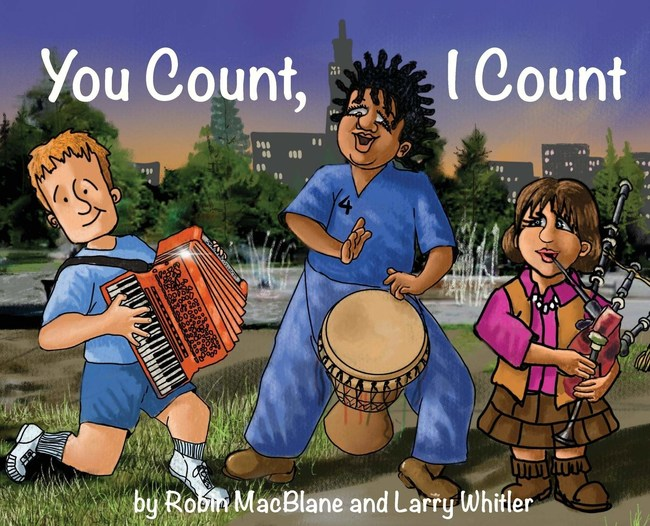 Number One Picture Book For Children: You Count I Count: Your Life Has Purpose