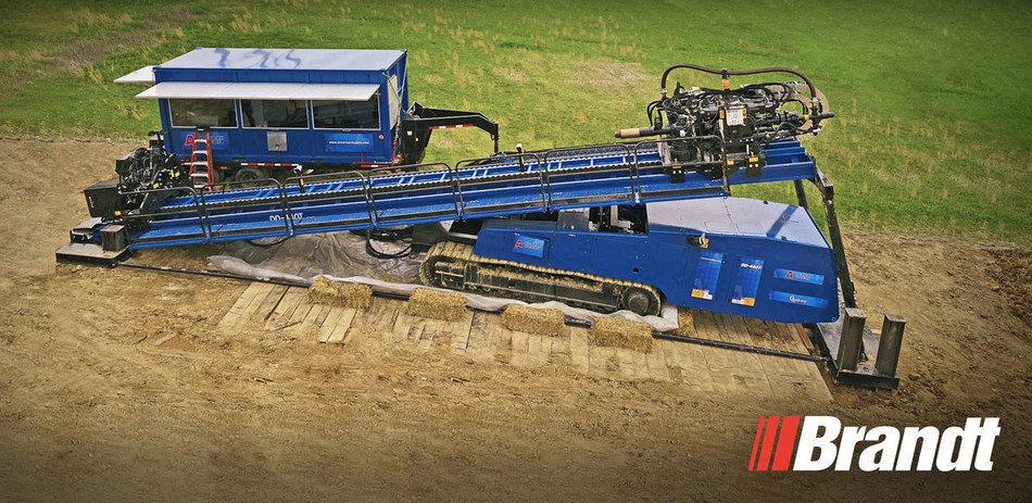Brandt named exclusive American Augers dealer for Canada. (CNW Group/Brandt Tractor Ltd.)