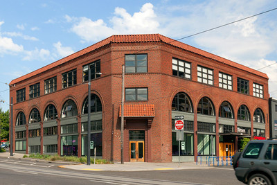 SKB and Reinsurance Group of America (RGA) acquire Leftbank, a four-story creative office in the heart of Portland's Eastside submarket