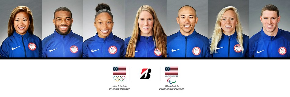 Bridgestone Partners with Seven Inspiring U S  Olympic and