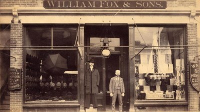 William Fox & Sons Brings Back Menswear
