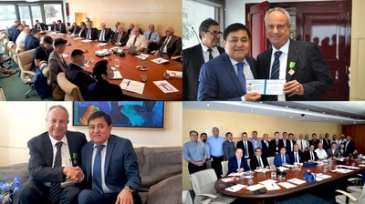 Consolidated Contractors Company Receives KazService of Kazakhstan Delegation