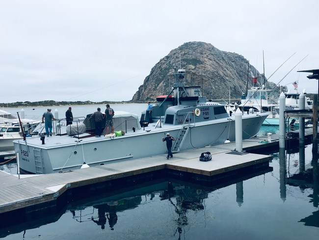 Morro Bay Maritime Museum offering tours on one-of-a-kind 85-foot US P-520 Crash Boat starting July 1, 2019.