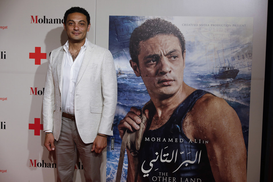 """The producer and actor Mohamed Aly presents in Barcelona """"The Other Land"""", an exceptional film about the tragedy of illegal immigration in the Mediterranean."""