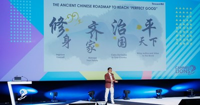 "Tencent Champions ""Tech for Good"" in Cannes"