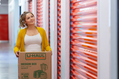 U-Haul® is introducing the self-storage and retail showroom aspects of its new facility at 7425 E. Washington St., where it has revitalized a vacated property that last housed a Kmart® store.