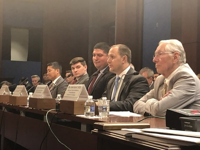 Derek Fronabarger, testified before the House Veterans' Affairs Committee today on the Specially Adapted Housing (SAH) benefit