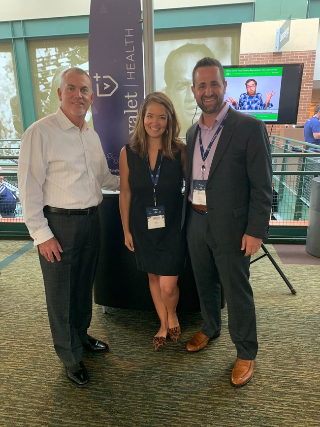 Valet Health team members share LaunchPad solution at OnRamp