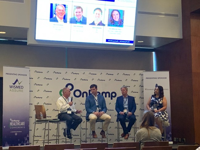 Dave Bowen, CEO, moderating panel at OnRamp Healthcare Conference