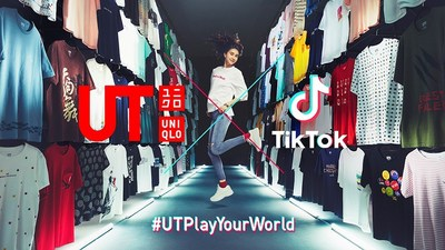 UNIQLO UT and TikTok team up to launch the first multi-market brand campaign #UTPlayYourWorld on TikTok