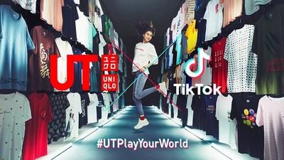 UNIQLO UT and TikTok team up to launch the first multi-market brand campaign #UTPlayYourWorld on TikTok