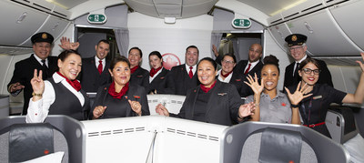 Air Canada est fière de saluer ses employés autochtones à l'occasion de la Journée nationale des peuples Autochtones (Groupe CNW/Air Canada)