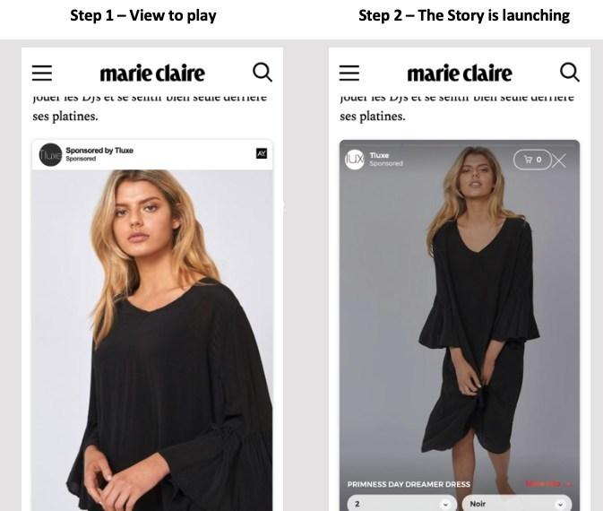 ADYOULIKE Unveils New In-Feed Stories Format (PRNewsfoto/ADYOULIKE)