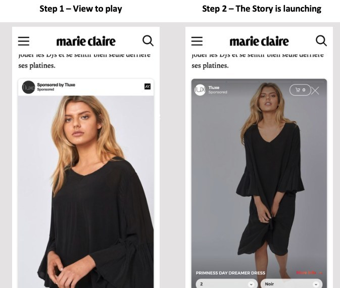 ADYOULIKE Unveils New In-Feed Stories Format