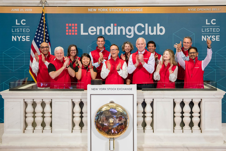 LendingClub celebrates $50 billion in loans and their 3 millionth borrower at the New York Stock Exchange Opening Bell.