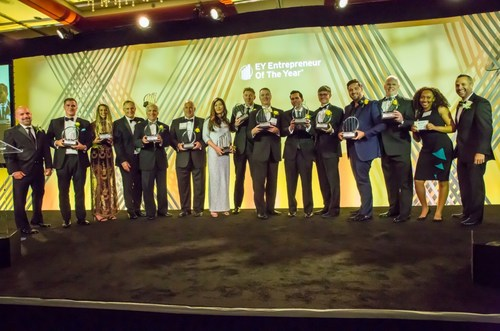 Winners of the EY Entrepreneur of the Year 2019 New Jersey Award